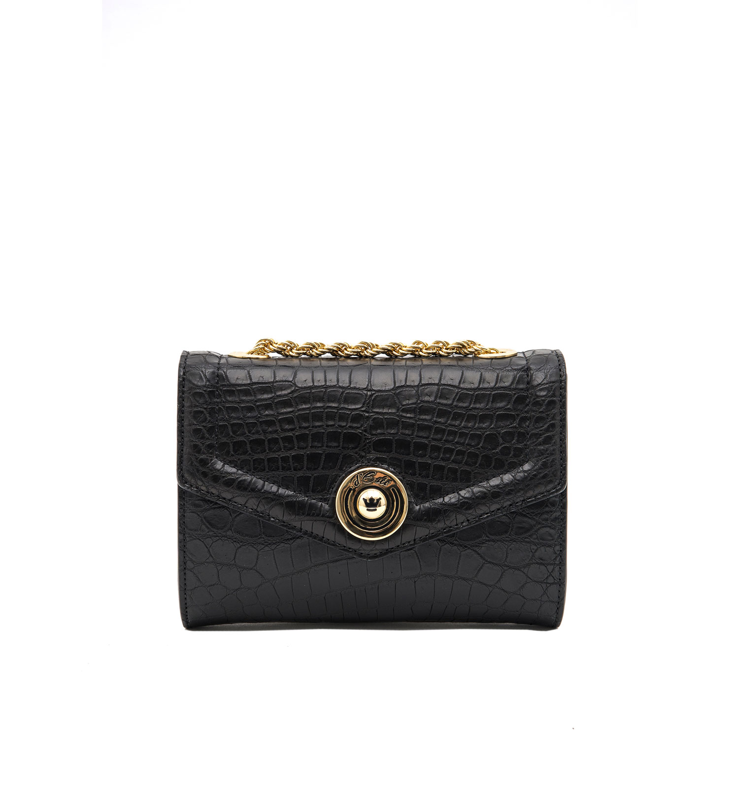 Coco-Antibes Black Clutch Bag