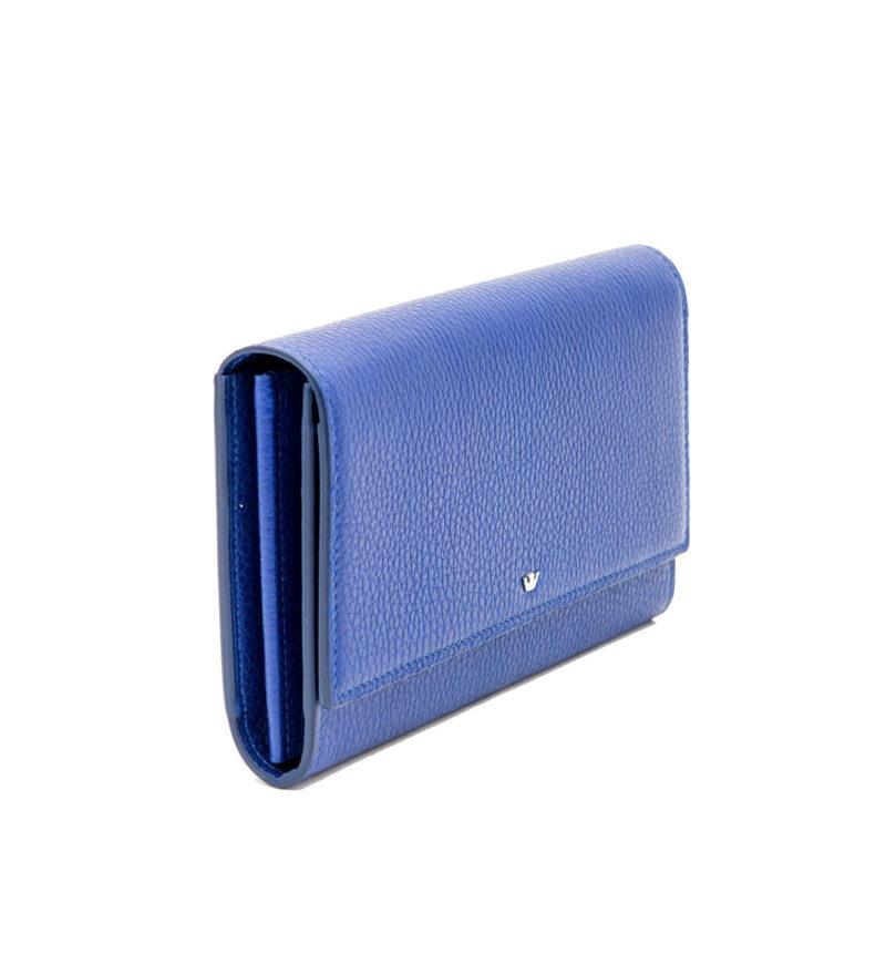 Portafoglio Clip Blu