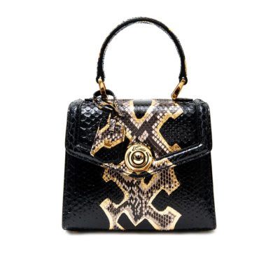 Bag Monaco Mini Python Black - 1