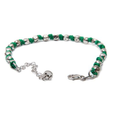 Green Nautical Rope Bracelet
