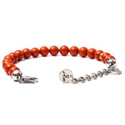 Red Coral Bracelet 8mm